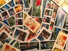DISCOUNTED Canada Postage Lot $500 FV -Easy to Peel Stickers All 50¢ FREE SHIP