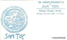 "ENGLAND - Bristol - Mr. George Edwardes' Co. in ""San Toy"" - Prince's Theatre"