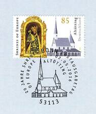 Germany 2016: Black Madonna in Altoetting No. 3240 with Bonn Stamp! 1a! 1607