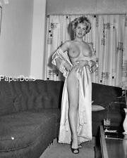 PDSN-0237 SCARCE VINTAGE 4X5 B/W 1950'S-1960'S NEGATIVE SWEET PINUP NUDE MODEL
