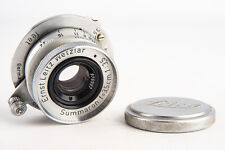 Leica Summaron 3.5cm 35mm f/3.5 Wide Angle Lens for M39 Screw Mount