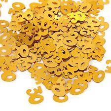 Gold 30th Birthday Confetti - 14g