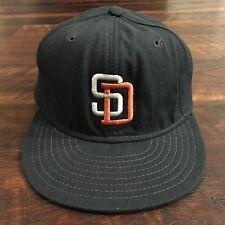 San Diego Padres Vintage New Era Pro Model MLB Baseball Fitted Hat 7 1/2