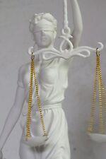 justitia,weiß,31x13cm,figur,veronese,statue,mit waage,polyresin,römisch,weiss