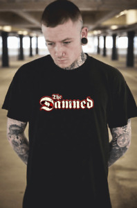 The DAMNED T-Shirt Funny Birthday Cotton Tee Vintage Gift For Men Women