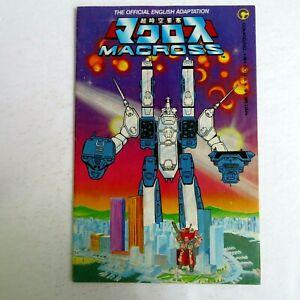 Macross 1 (1984) 1st Robotech The Macross Saga #1 Low Print Comico B02