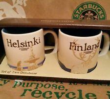 Starbucks 2er-Set demi mugs Helsinki/Finland, Espresso-Tassen, NEU in OVP-BOX!!
