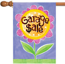 NEW Toland - Garage Sale - Cute Colorful Rummage Yard Estate Sign House Flag