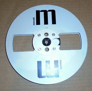 """One 7"""" Maxell MR-7 Metal Empty Take Up Reel"""