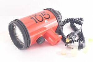 Nikon Speedlight SB 105 Underwater Strobe W/cable for Nikonos #3004250