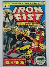 Iron Fist #1 (1975) 1st Print 9.2 NM- / First Solo Iron Fist Title| I