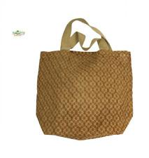 Apple Green Duck Grocer Shopping Bag - 100 Jute Grocer 40cm X 34cm