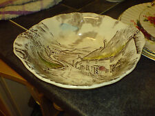 """GRINDLEY - 'QUIET DAY' - 2 HANDLED - 9"""" DIA - BOWL"""