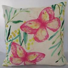 "Watercolour Butterflies Cotton ""Status Collections"" Cushion Cover 45cm"