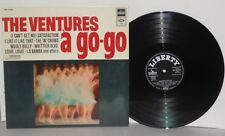 THE VENTURES A Go-Go LP Vinyl Stereo Germany Satisfaction Wooly Bully PLAYS WELL