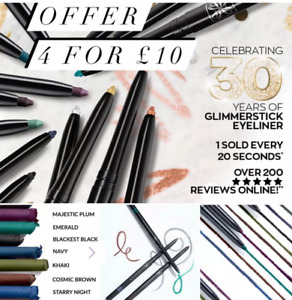 Avon Glimmerstick ~ Eyeliners ~ Mix & Match ~ 7 Assorted Colours ~ 4 for £10 ~