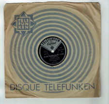 78T 25cm The FOUR KNIGHTS - Margaret WHITING Disque Phono WANNA - TELEFUNKEN 419