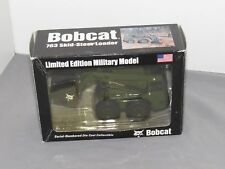 Vintage Bobcat 763 Loader Military Version 1:25 Scale Diecast Model NIB RARE