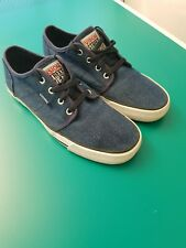 Denim Vision Street Wear Canvas Trainers, Size 7