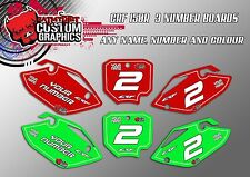 HONDA CRF150R  2007 - 2017 GRAPHICS  CUSTOM PRINTED BACKGROUNDS NUMBER BOARDS MX