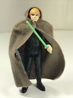 Star Wars Vintage Figure Luke Jedi Knight Comp w/Green Saber Blaster Cape Taiwan