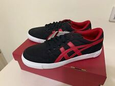 Asics Onitsuka Tiger Black  /Red  Shoes A-SYS  SIZE US#9.5  JP27.5