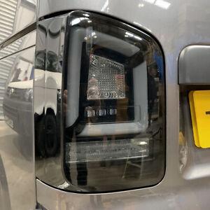 VW T5.1 Transporter 2010-15 Sequential Indicator LED Rear Lights – Black Smoke
