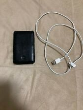 Apple iPod Classic 7th Gen MB565LL 120GB - Black - Case and cord bundle
