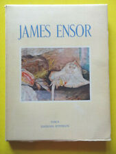 Paul Fierens James Ensor Editions Hypérion 1943