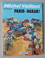 MICHEL VAILLANT 41 - PARIS DAKAR ! - JEAN GRATON - GRATON EDITEUR - EO DE 1982 *