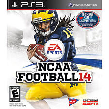 PLAYSTATION 3 NCAA FOOTBALL14 - PS3 - BRAND NEW VIDEO GAME - 2014