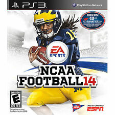 PlayStation 3 NCAA Football 14 Video Game C10