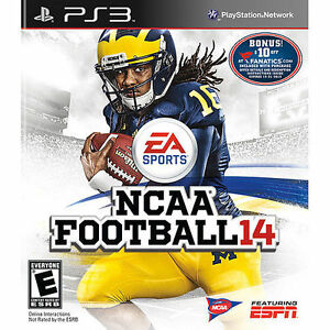 NCAA Football 14 Playstation 3 Game