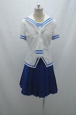 Fruits Basket Tohru Honda cosplay Costume white& blue dress