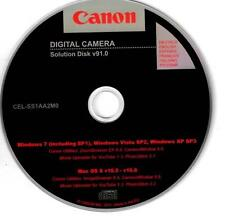 Canon Fotocamera Digitale soluzione DISCO V91.0 zoombrowser CameraWindow photostitch