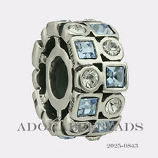 Authentic Chamilia Silver Periwinkle Stepping Stones Bead 2025-0843  SALE!!!