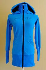 Women's Lululemon Athletica Scuba Hoodie Zip Up Turquoise Sweater/Jacket size 4