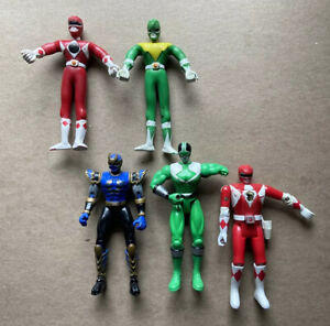 POWER RANGERS 1994 SABAH GORDY And  BANDAI 1990s 2000s Sold As Is