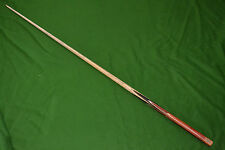 COLLECTION WELCOME -  1 ONE PIECE HANDMADE ROSE WOOD ASH SNOOKER CUE