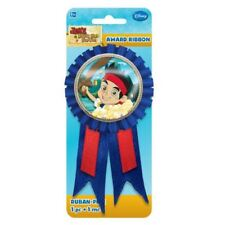 14cm Disney's Jake and The Neverland Pirates Party Award Ribbon Prize Badge
