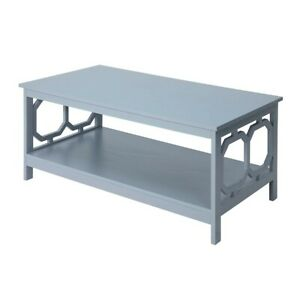 Convenience Concepts Omega Coffee Table, Gray - 203220GY