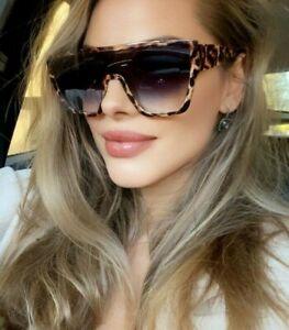 ZOO Retro Vintage Black Women Sunglasses Designer  Oversized GAFAS