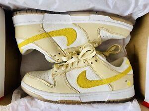 *Deadstock* Brand New Nike Dunk Low 'Lemon Drop' UK 6 (EU40)
