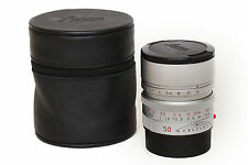 Leica Summilux-M 50mm F1.4  Asph. Cromo M6 M7 M8 M9 M-E M 240 Typ Monochro