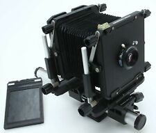 Omega View 45E 4x5 Large format Camera w/Geronar 150/6.3 MC pinholes 390113