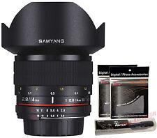 Samyang 14mm F2.8 UMC Aspherical IF ED f/2.8 Ultra Wide Angle Lens for Nikon AE