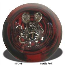 RAT FINK MARBLE RED SHIFT KNOB HOT ROD GASSER CHOPPER SUICIDE JOCKEY  RA303RDBK