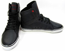 Radii Shoes Simple Leather Perforated Black/White Sneakers Size 9.5 EUR 43