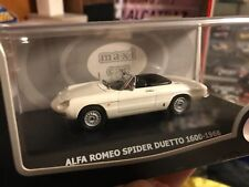 Alfa Romeo Spider Duetto 1600 model modello scala 1 43 24 nuovo new ixo maxi car