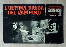 L'ULTIMA PREDA DEL VAMPIRO fotobusta poster The Playgirls Vampire Horror CZ27